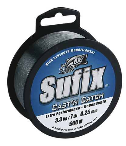 Леска SUFIX Cast'n Catch x10 синяя 100м 0.45мм 11,4кг