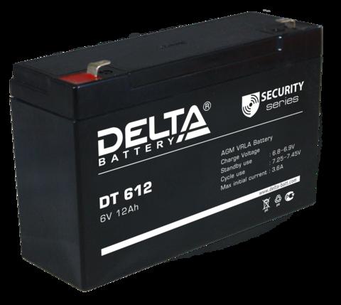Аккумуляторная батарея Delta DT 612