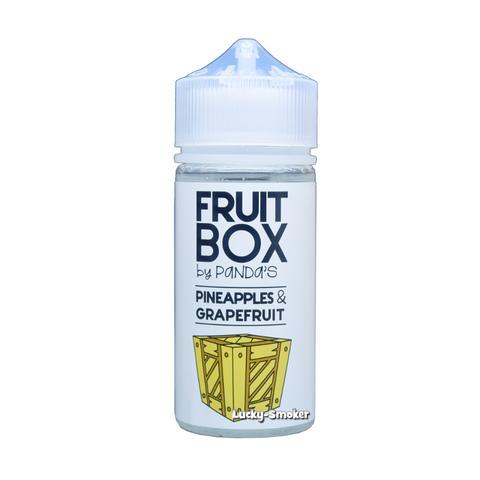 Жидкость Panda`s Fruit Box 100 мл Pineapples & Grapefruit