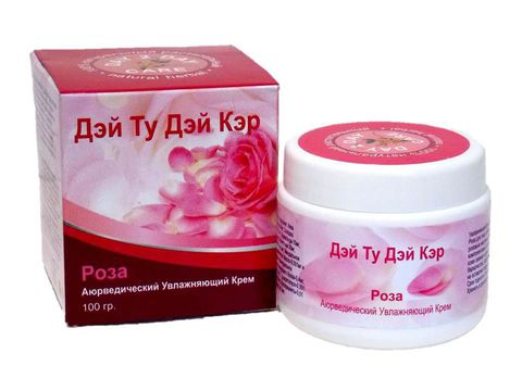 Увлажняющий крем Роза, 100 г D2D