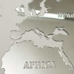 Зеркальная карта мира фото 5
