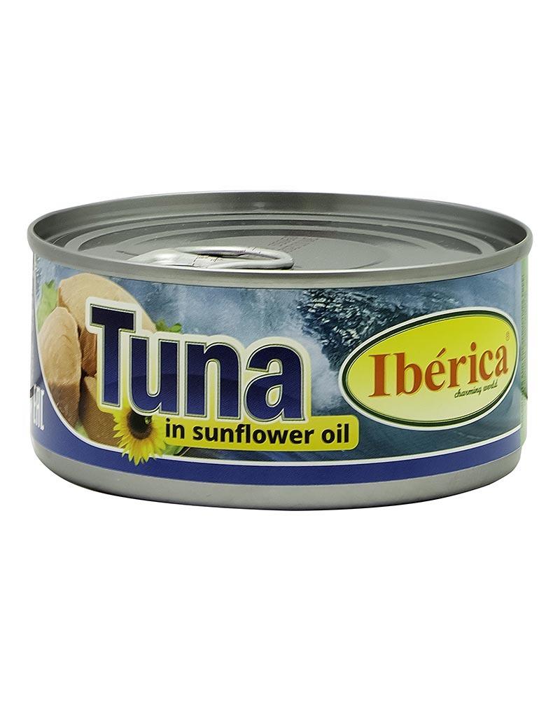 Тунец Iberica в подсолнечном масле 160 гр.
