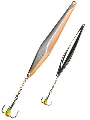 Блесна вертикальная Lucky John SHINER 55мм, цвет Minnow, арт. LJS75-M