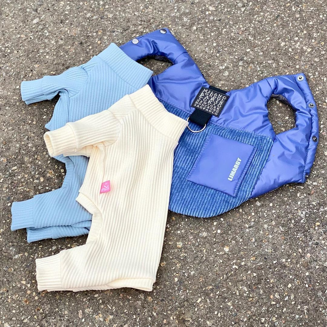 008-21 LM - Двусторонняя куртка для собак