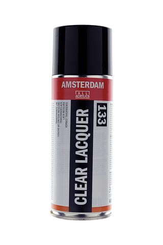Лак для окрашенных поверхностей Amsterdam (133) аэрозоль бесцветный 400мл