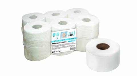 Бумага туал. 1 сл. 1-2-PRO ЭКОНОМ 200 м  белый