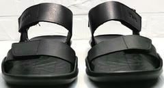 Летние сандали босоножки мужские кожаные Zlett 7083 Black.