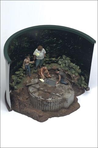 Остаться в живых диорама Люк на острове — Lost The Hatch