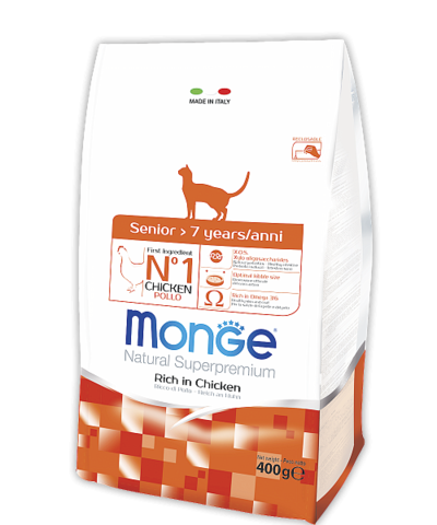 Сухой корм Monge Cat Senior Rich in Chicken