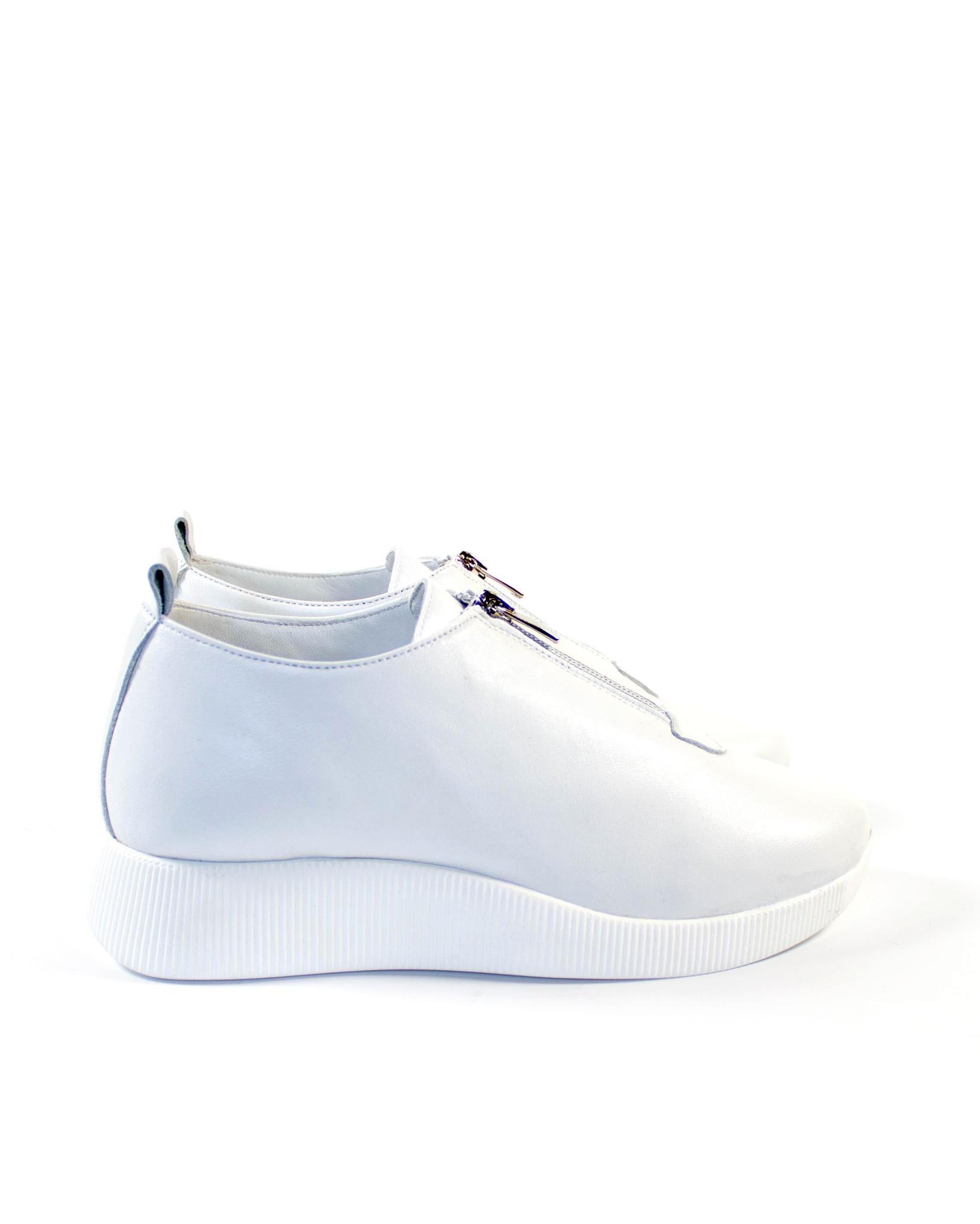 белые кеды SM