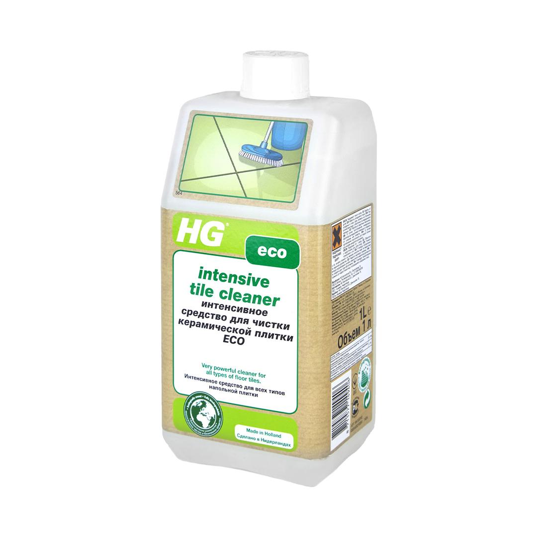 HG Интенсивное средство для чистки керамической плитки 1 л.