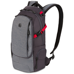 Рюкзак Swissgear, серый, 24х15,5х46 см, 15,5 л
