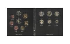 Набор монет 20 лет Евросоюзу. Кипр