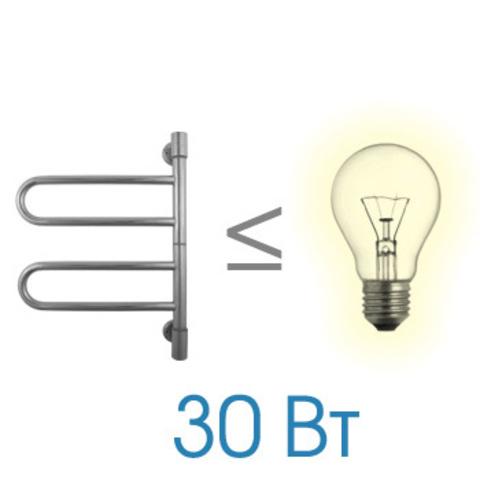 Полотенцесушитель электрический Energy U G2K 540x400