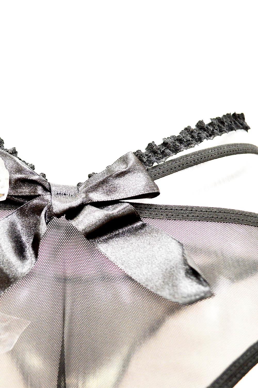 Эротический комплект белья с неординарными трусиками