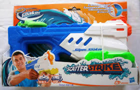 Supersoaker Scatter Strike Water Gun
