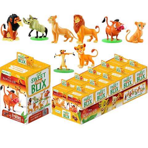 СВИТБОКС DISNEY КОРОЛЬ ЛЕВ FRUITLES Фруктовые пастилки с игрушкой в коробочке. 1кор*12бл*10шт, 5г.
