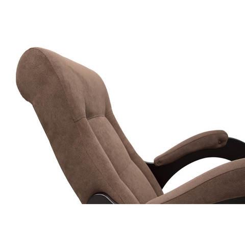 Кресло-качалка с подножкой, Модель 44 ткань с лозой