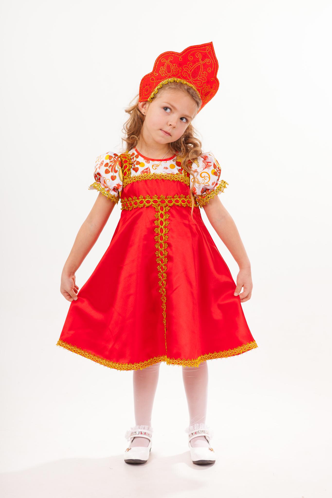 1013  Карнавальный костюм Красна - девица