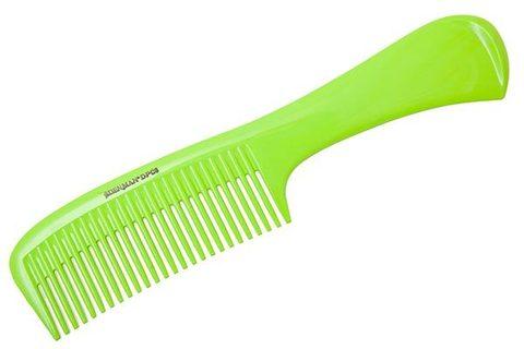 Расчёска Denman Neon Green с ручкой