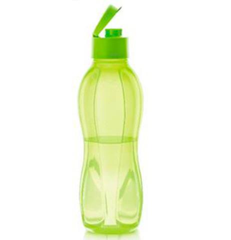 Бутылка Эко 1 л в салатовом цвете