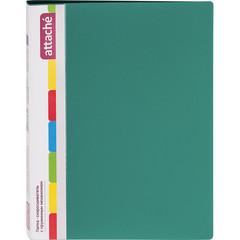 Скоросшиватель пластиковый с пружинным механизмом Attache А4 до 150 листов зеленый (толщина обложки 0.7 мм)