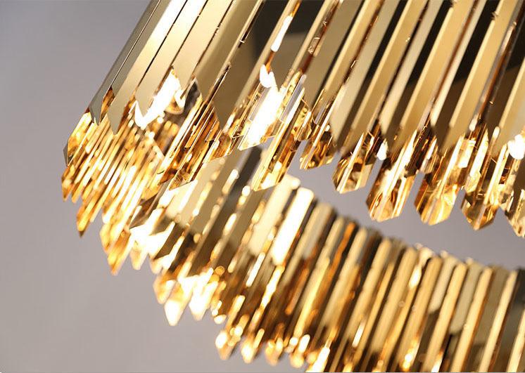 Подвесной светильник копия Tom Kirk Facet by Innermost D100 (2 уровня/золтой)