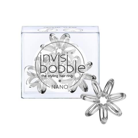Резинка для волос invisibobble NANO Crystal Clear