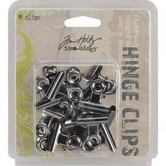 Зажимы  Tim Holtz Idea-Ology Metal Hinge Clips, 1 шт
