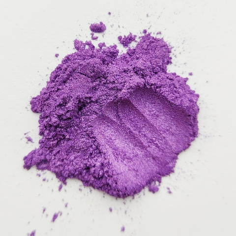 Пигмент для слайма перламутровый фиолетовый 20 мл