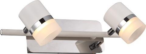 INL-9387W-10 Chrome & White