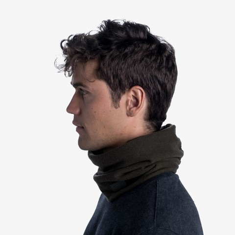 Шарф-труба шерстяной Buff Wool Fleece Khaki фото 2
