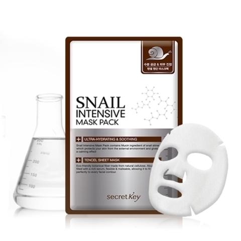 SECRET KEY Snail Intensive Mask Pack интенсивная маска с муцином улитки