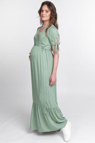 Платье для беременных 11554 ментол