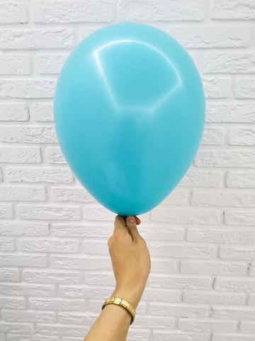 №18 Карибы Гелиевый шар пастель 30см с обработкой