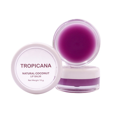 Бальзам для губ с Ягодами, TROPICANA OIL, Natural Coconut Lip Balm, 10 мл