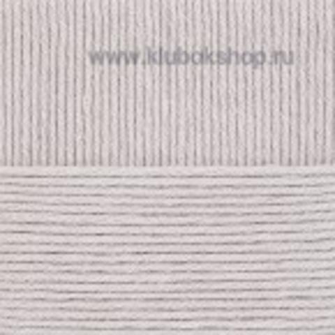 Пряжа Молодежная Пехорский текстиль светло-серый меланж 386