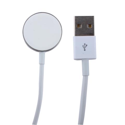 Кабель для зарядки Apple Watch COTEetCI (CS5162-1m) Steel Magnet Charging Cable Белый