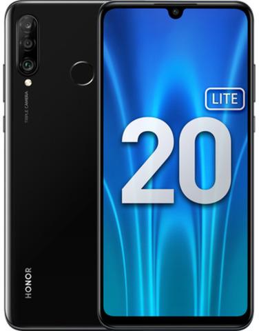 Смартфон Honor 20 Lite 4/128GB (RU) полночный черный (MAR-LX1H)