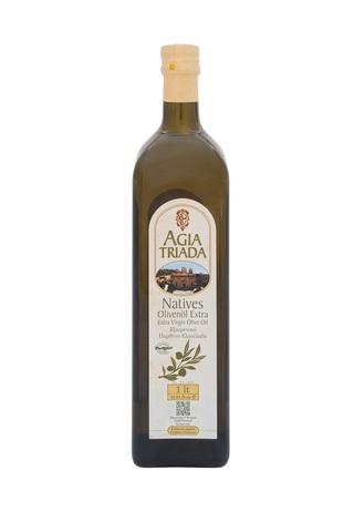 Оливковое масло греческое Agia Triada стекло 1 л с острова Крит