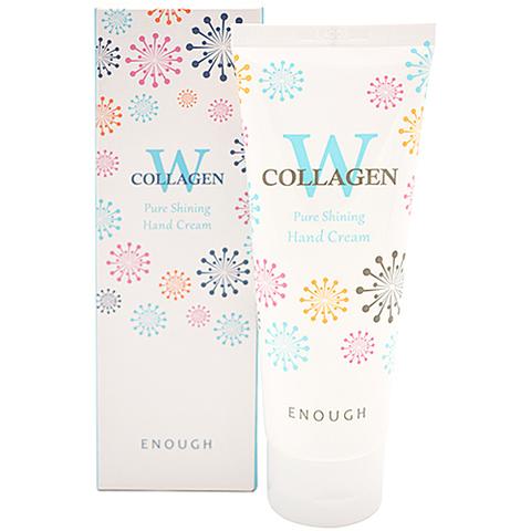 Enough W Collagen Pure Shining Hand Cream крем для рук для сияния кожи
