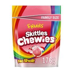 Skittles Chewies Жевательные конфеты Скитлс 176 гр