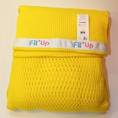 Слинг-шарф, Filt, Fil'Up, желтый, (с сумкой), S,M,L,XL /Т1 (S-M)/