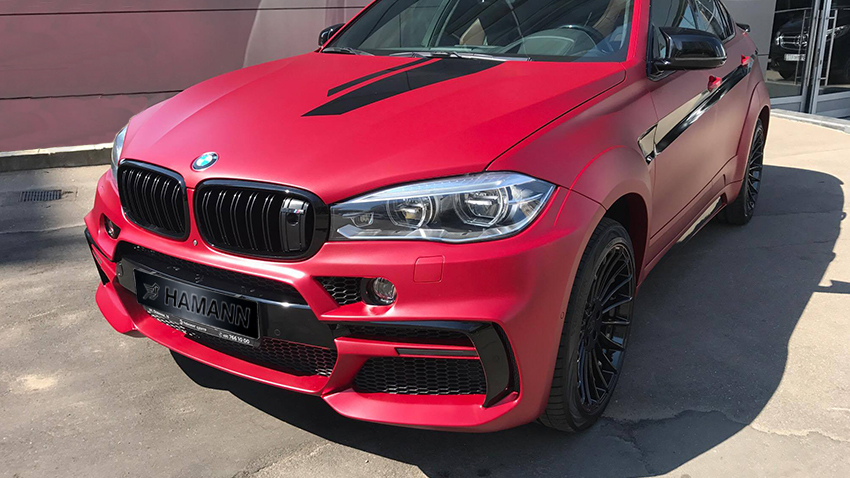 Обвес Hamann для BMW X6 M F86  Widebody