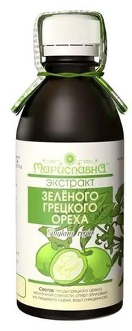 Сироп Зеленого грецкого ореха, 100 мл. (Веселова)