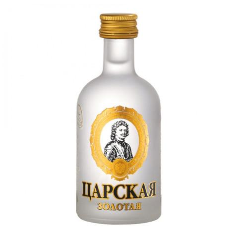 Водка Царская золотая 40* Алкомаркет 0,5л
