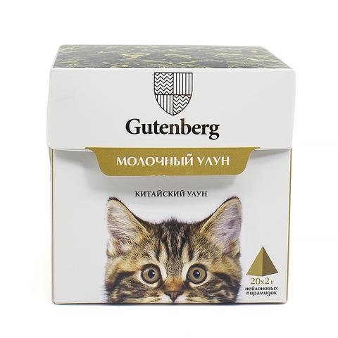 Чай в пирамидках: кошки Молочный улун ЧАЙ ИП Кавацкая М.А. 20шт/уп