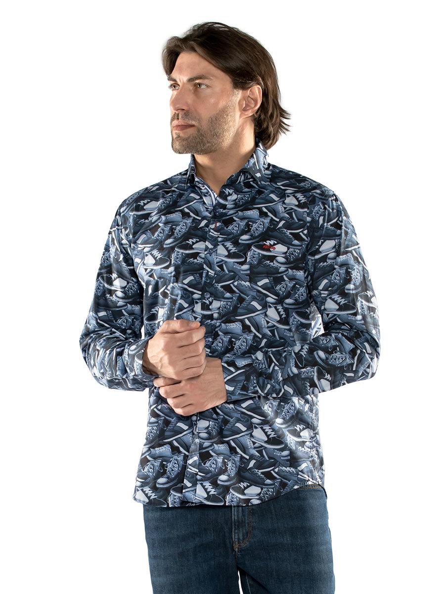 Dario Beltran рубашка Letargo 3ZFG 1661