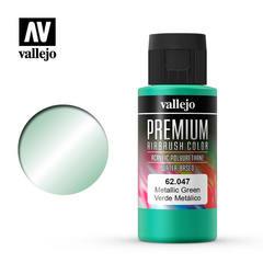 PREMIUM COLOR 60ML. 047-METALLIC GREEN