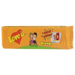 Жевательные конфеты Love Is - новые вкладыши, любимые вкусы (манго-апельсин)